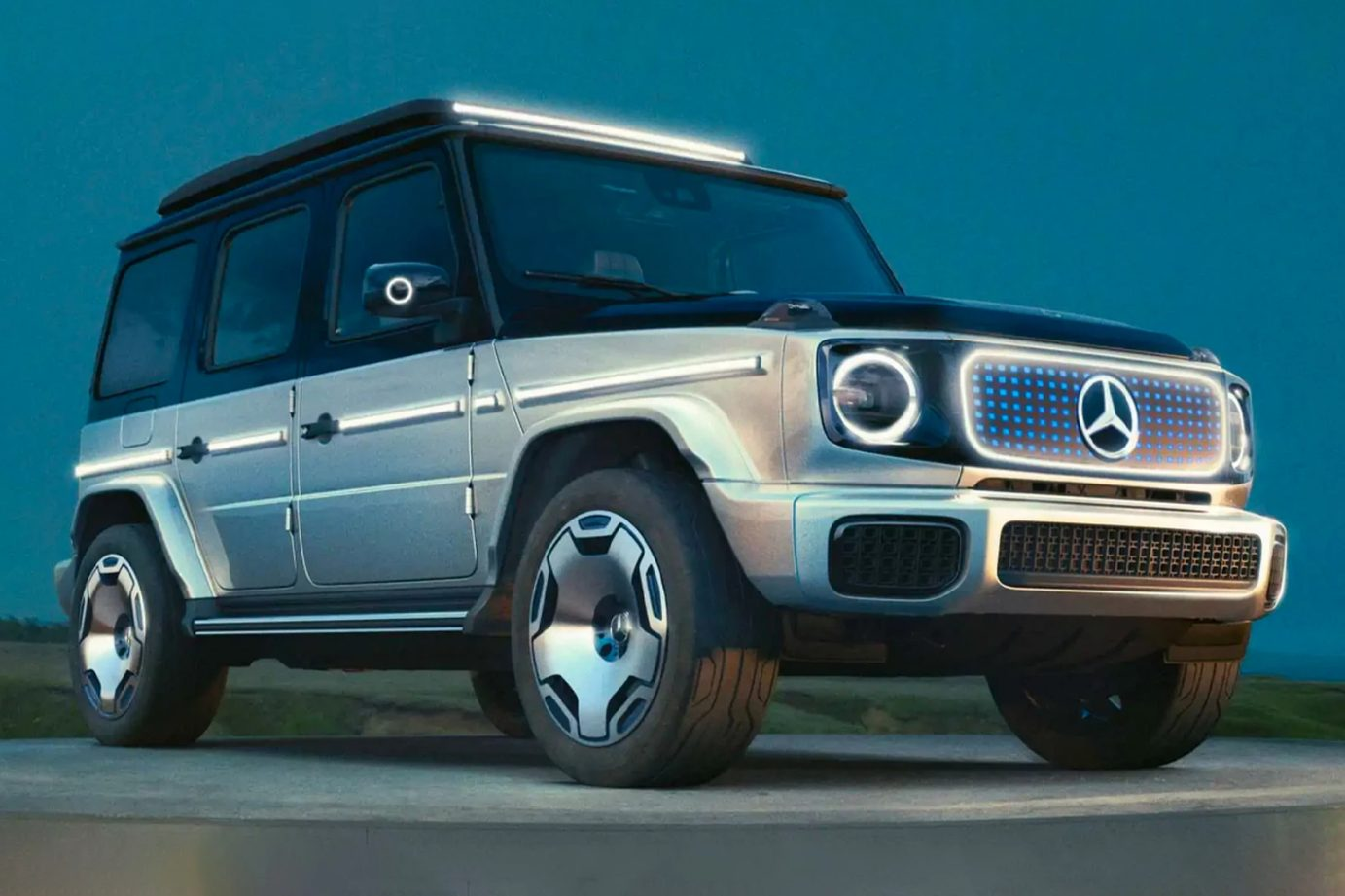Mercedes Classe G Concept EQG