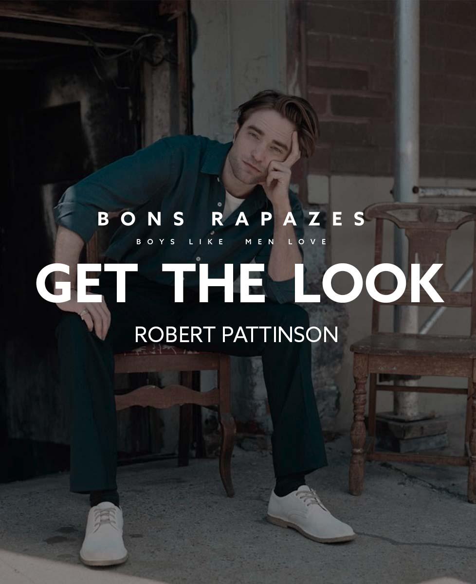 Get The Look Robert Pattinson