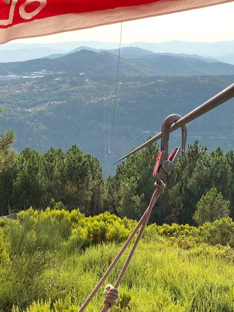Uma das atividades do Pena Adventure Park, deste Escape de Fim de Semana