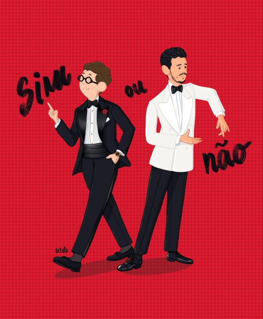 Sr. Fato - Black Tie