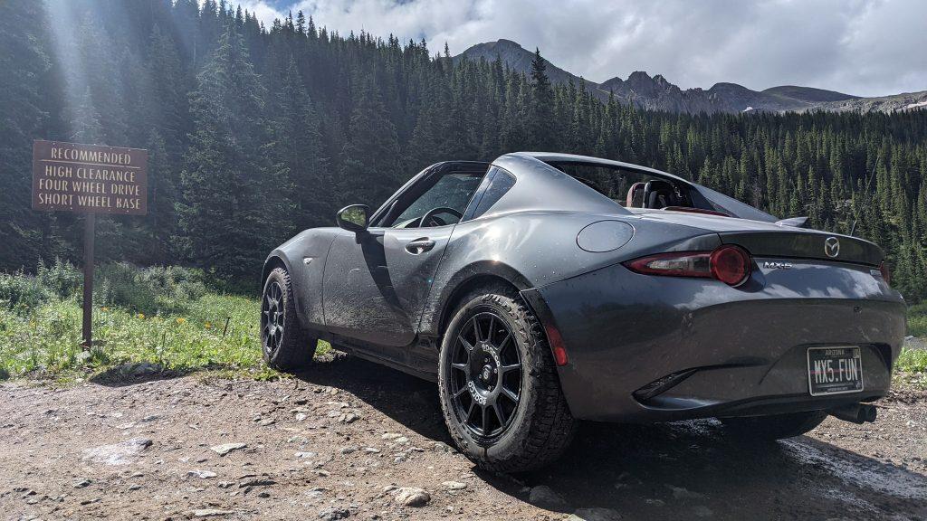 Mazda MX-5 apto para todo-o-terreno